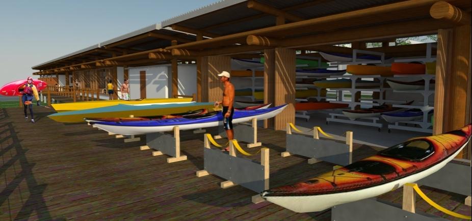 """Em Ubaitaba, Rui autoriza construção do Centro de Canoagem: \""""Investindo na juventude\"""""""