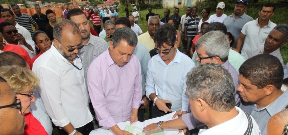 Itacaré: Rui Costa autoriza início das obras do Centro de Canoagem