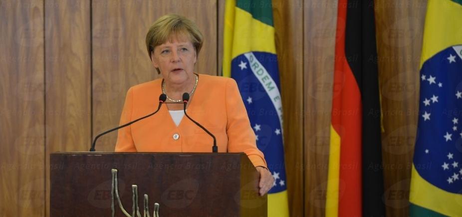 Alemanha: pesquisa mostra vitória do partido de Angela Merkel nas eleições federais