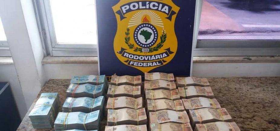 Vitória da Conquista: homem apreendido com R$ 700 mil diz que dinheiro é de venda de ponto de táxi