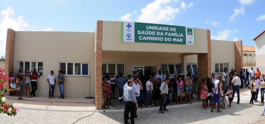 Inaugurada em dezembro, Unidade de Saúde da Família começa a funcionar em Camaçari