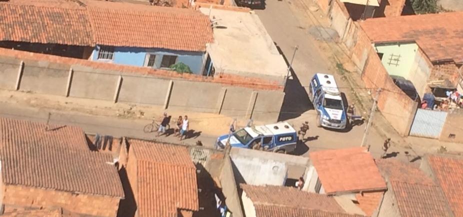 PM realiza operação contra o tráfico de drogas em Barreiras