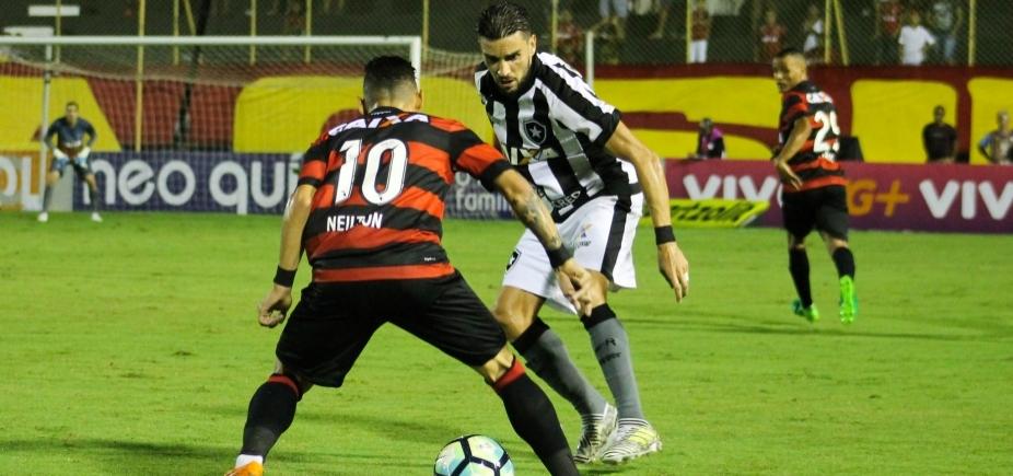 CBF altera horário de duelo entre Botafogo e Vitória na Série A