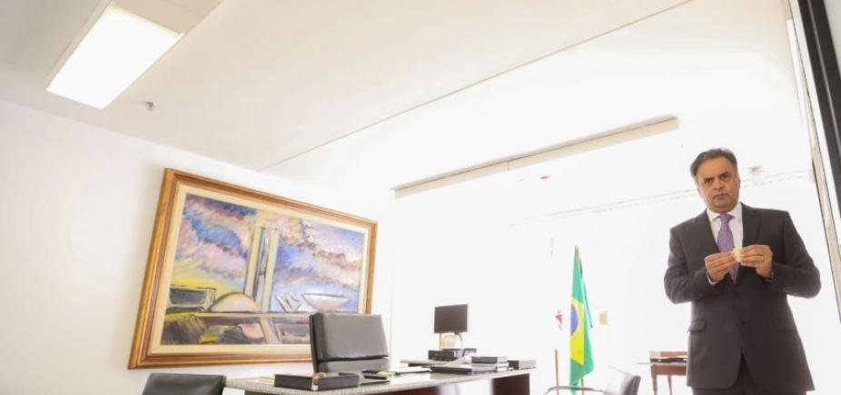 """STF rejeita prisão de Aécio Neves; relator fala em """"carreira política elogiável"""""""