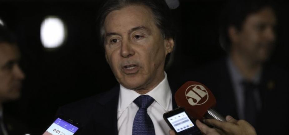 Sobre afastamento de Aécio, Eunício diz que cabe ao Senado tomar decisão ʹse Constituição foi feridaʹ