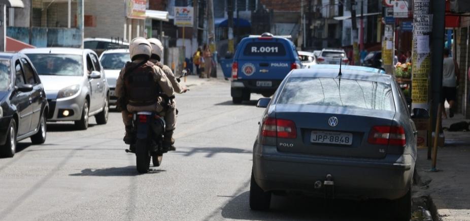 Suposto toque de recolher assusta moradores do IAPI; SSP reforça policiamento
