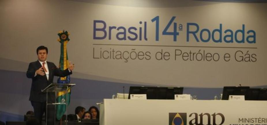 Leilão de blocos de petróleo e gás garante arrecadação de R$ 3,8 bilhões
