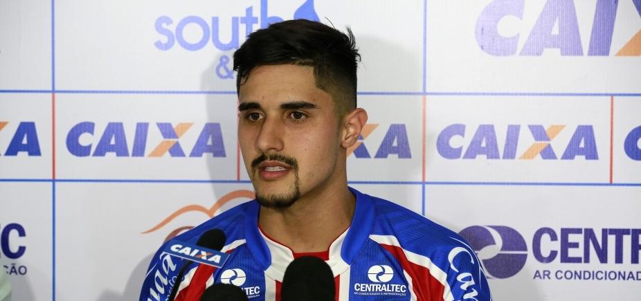 Zagueiro do Bahia destaca chance de ser titular após se recuperar de lesão