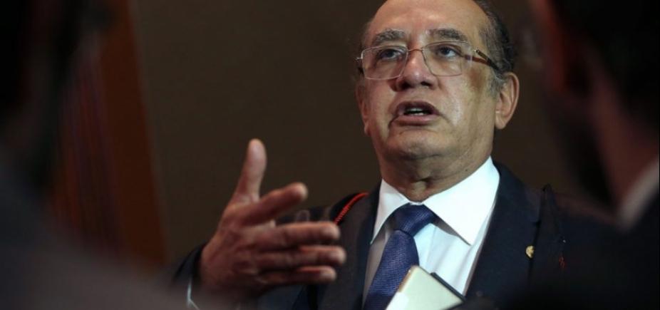 Criticando duramente afastamento de Aécio, Gilmar diz que Senado precisa deliberar a respeito