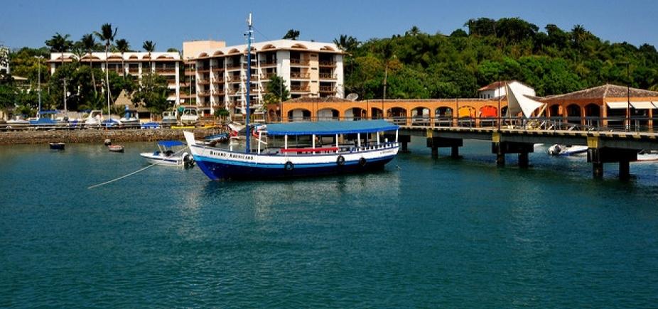 Empresas de cruzeiros marítimos estudam aportar em Itaparica em 2018