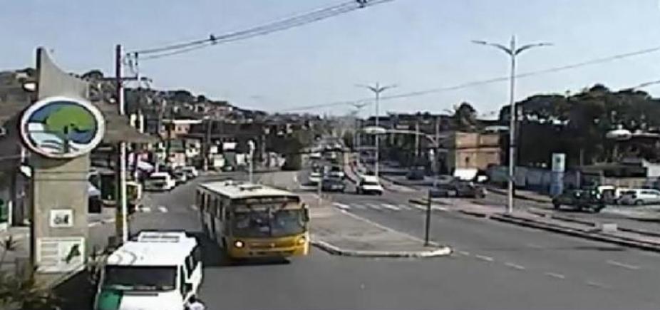 Pedestre morre após ser atropelado por ônibus na Suburbana