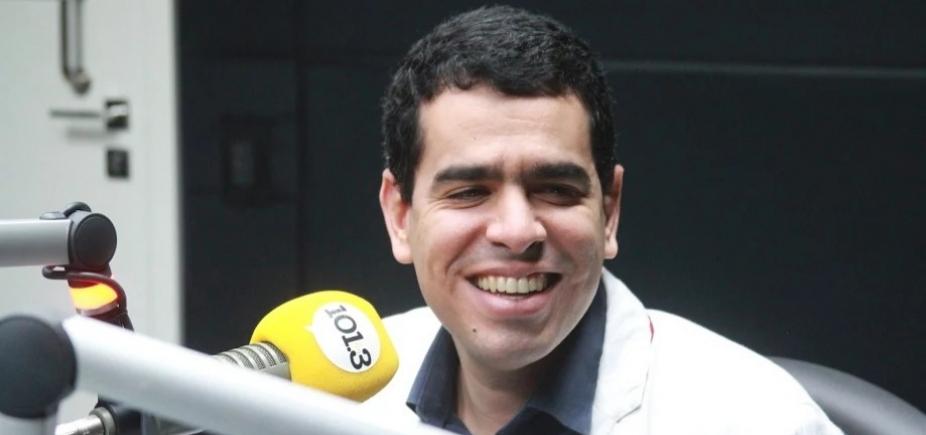 """""""Ele tem um biotipo um pouco mais pesado"""", diz presidente do Bahia sobre Rodrigão"""