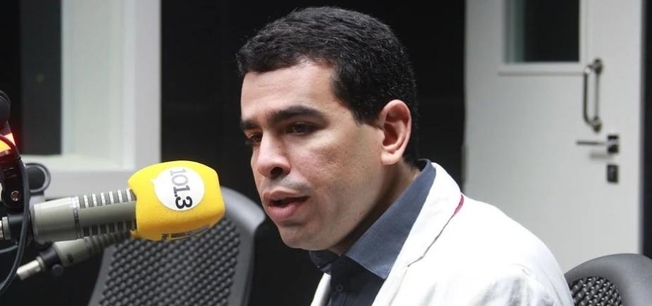 """Presidente do Bahia rebate deputado durante entrevista: """"Medíocre é a política brasileira"""""""