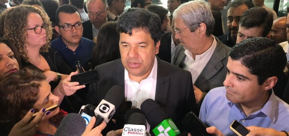 """Ministro da Educação celebra parceria com ACM Neto: """"Vim em nome de Temer"""""""