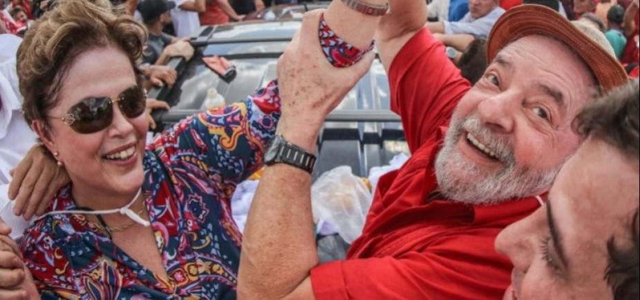 Lula estará nas eleições de 2018 vivo ou morto, diz Dilma