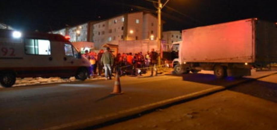 Colisão entre moto e caminhão deixa um morto em Vitória da Conquista
