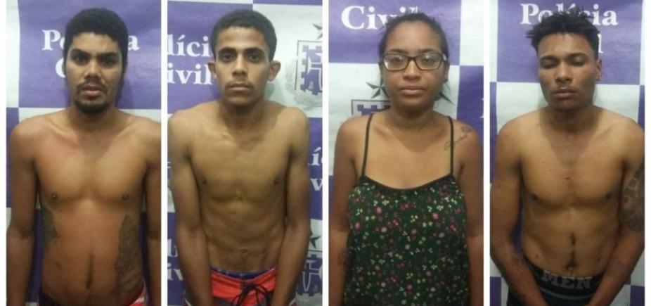 Grupo é preso acusado de homicídio em Ilhéus