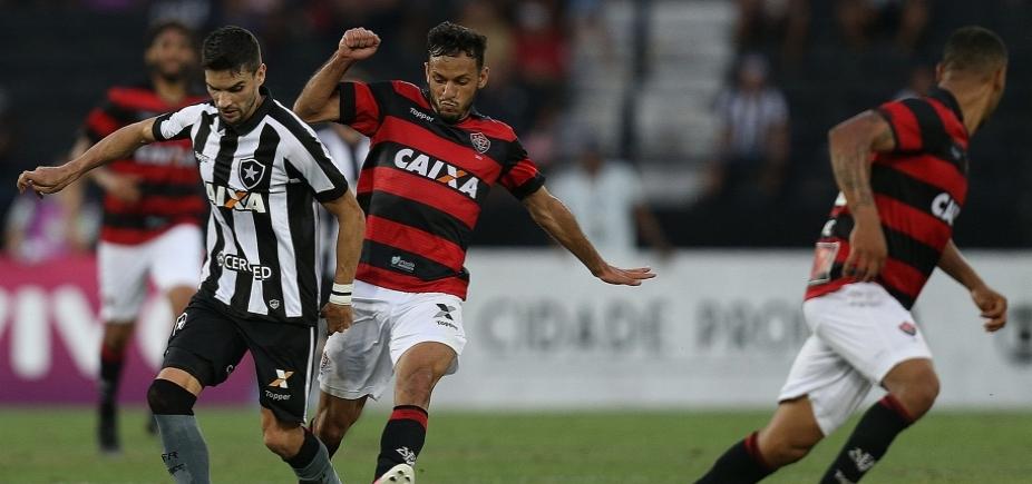 De virada! Vitória vence Botafogo por 3 a 2 e se mantém fora da zona de rebaixamento