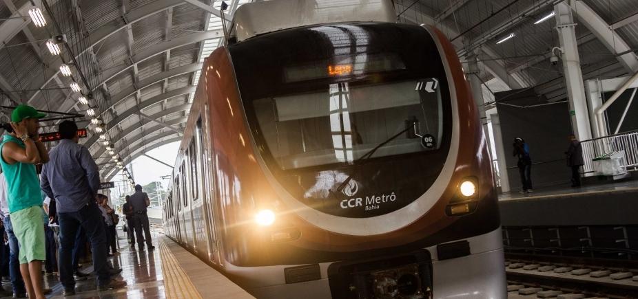 Homens são presos tentando roubar fios de cobre do metrô de Salvador