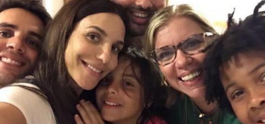 Ivete Sangalo comemora aniversário do filho Marcelo em Praia do Forte; fotos