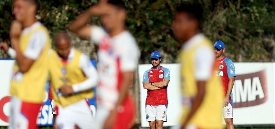 Bahia terá pelo menos cinco desfalques para duelo com o Palmeiras