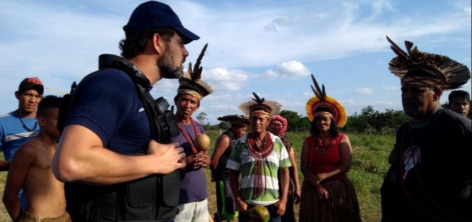 Após invasão, operação policial prende uma pessoa em fazenda de Geddel