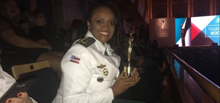 Comandante da Operação Ronda Maria da Penha vence prêmio CLAUDIA