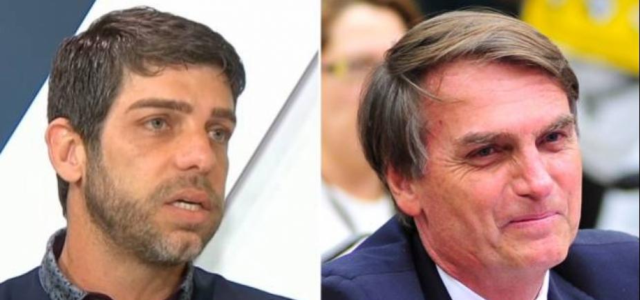 Ex-jogador critica 'bolsominions' no Twitter e discute com filho de Bolsonaro