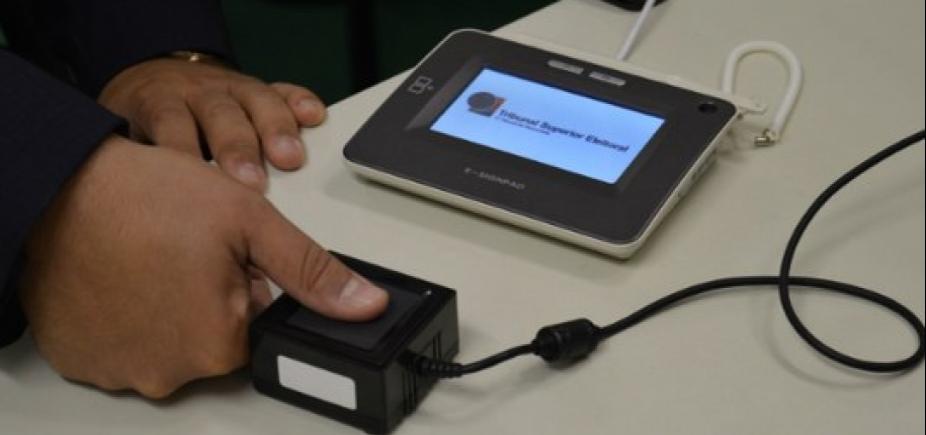 TRE da Bahia biometriza quase 130 mil eleitores em uma semana