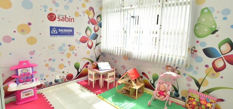 Espaço lúdico para crianças vítimas de violência é inaugurado na Liberdade