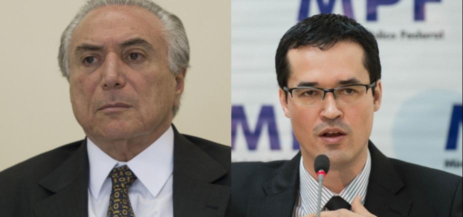"""Temer diz que PGR é """"associação criminosa"""" e procurador da Lava Jato rebate"""