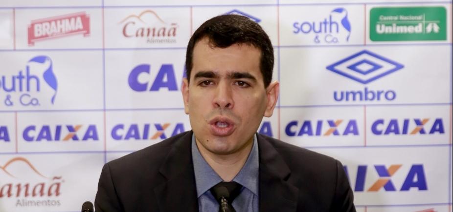 Presidente do Bahia marca pronunciamento após demissão de Preto