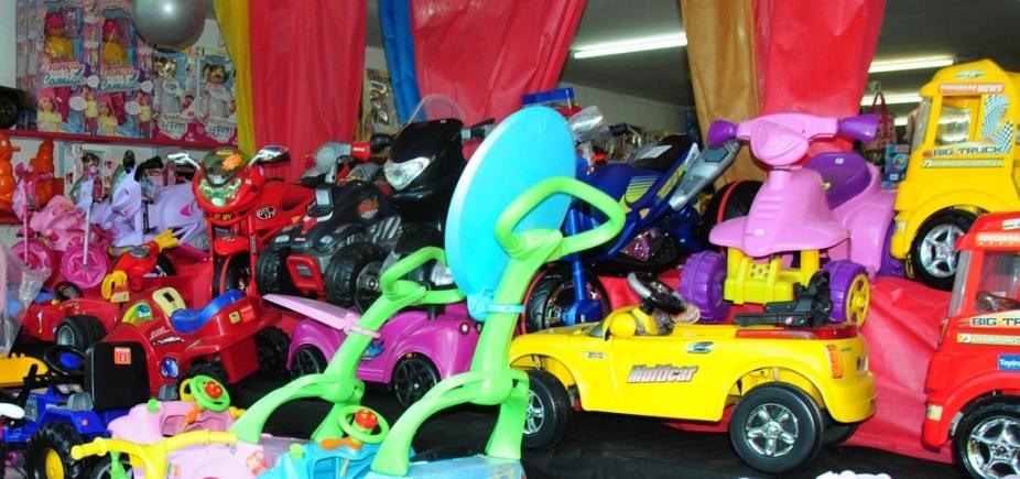 Operação Criança Segura: Codecon autua 5 estabelecimentos de brinquedos em Salvador