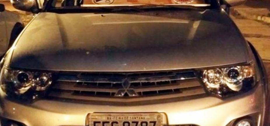 Vereador é preso ao ser flagrado com carro roubado na Chapada