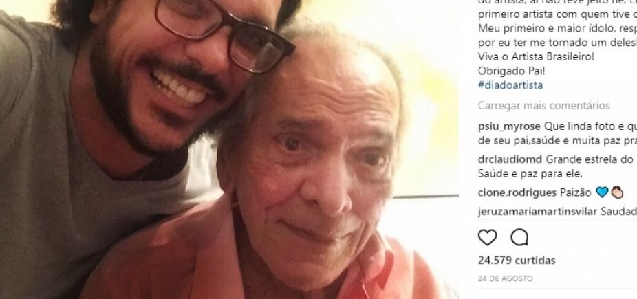 Com gastroenterite, Lúcio Mauro continua internado e sem previsão de alta