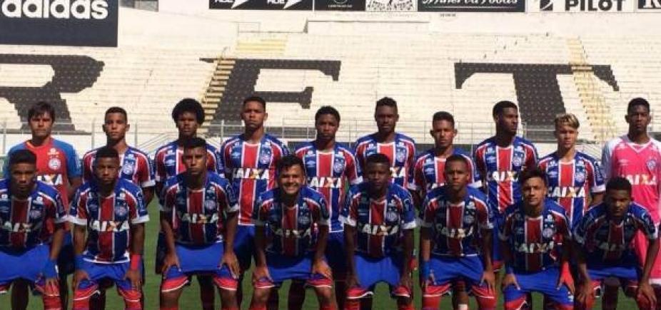 Bahia é eliminado da Copa do Brasil sub-17 pela Ponte Preta