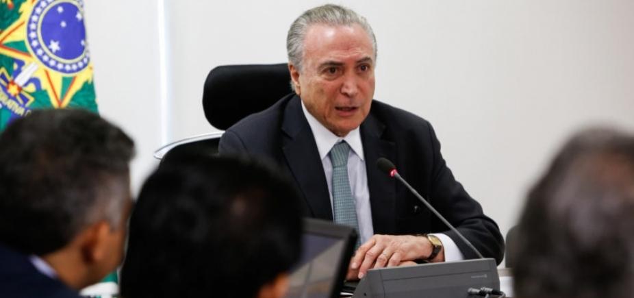 Selic vai fechar 2017 em menos de 7%, garante Temer