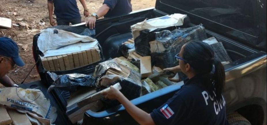 Três toneladas de drogas foram incineradas na Bahia nas últimas 24h