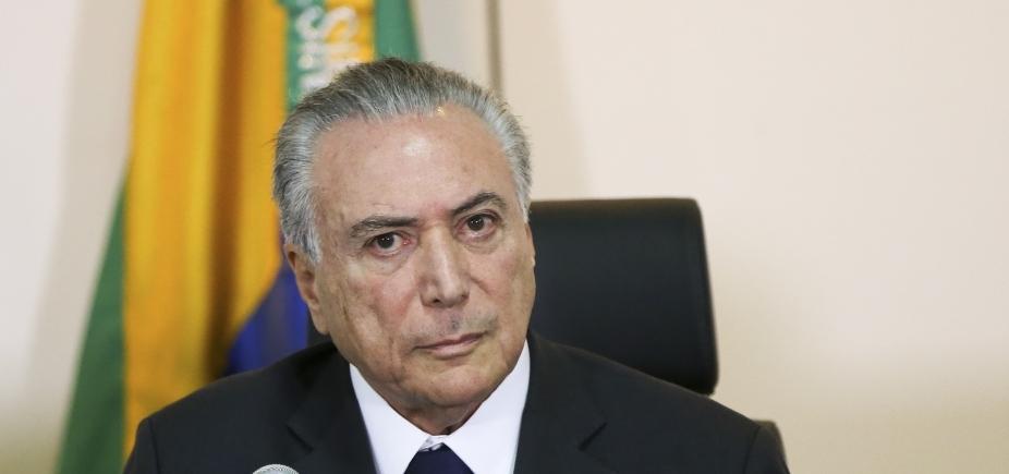 Ministro autoriza PGR a interrogar Temer sobre decreto no setor de portos