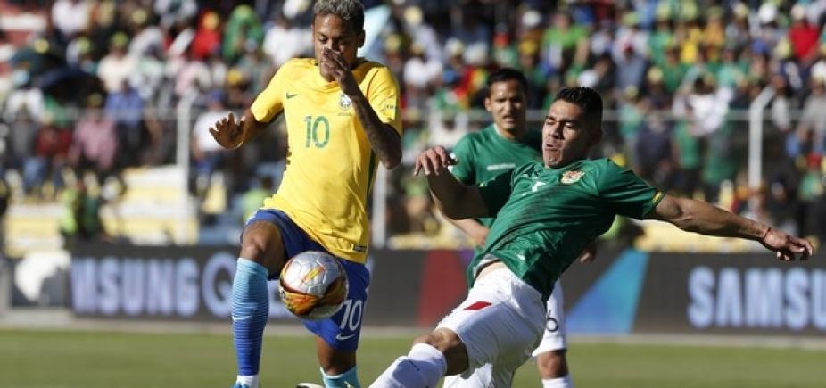 Em jogo com muitas chances, Brasil e Bolívia empatam sem gols em La Paz
