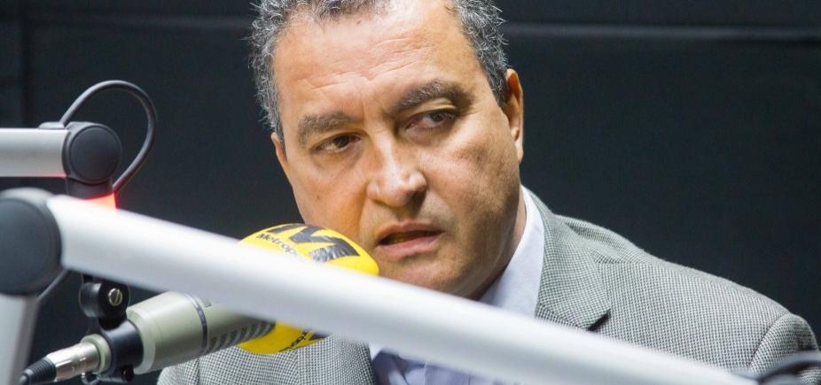 """Governador critica """"negociações"""" que atrapalham a Bahia: """"Gente covarde que esconde seu nome"""""""