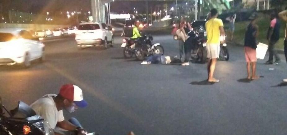 Polícia investiga participação de falsos baleiros em assalto a ônibus na Av. Tancredo Neves
