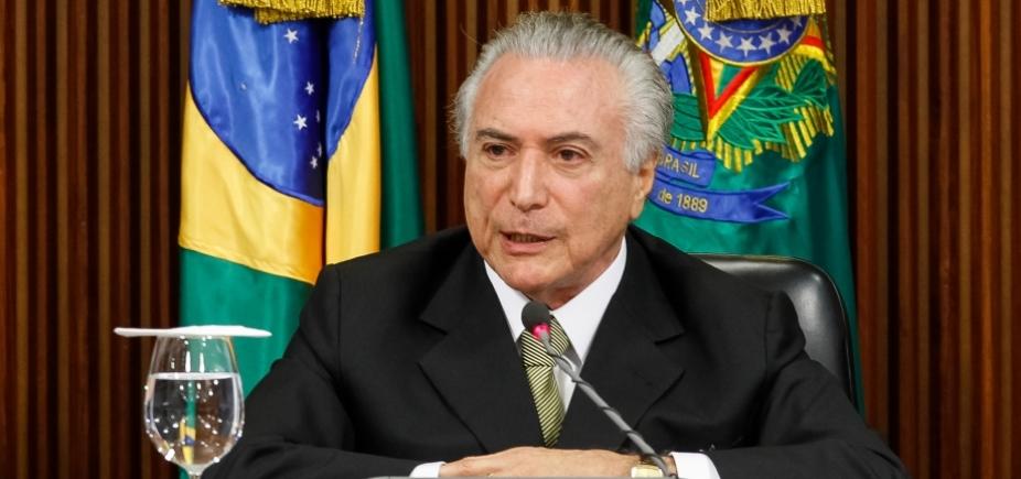"""Temer vetará artigo de reforma classificada como """"censura"""", diz Planalto"""