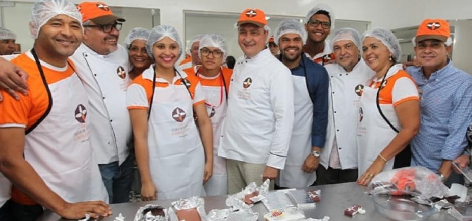Bahia ganha primeira Fábrica-Escola de Chocolate em Gandu