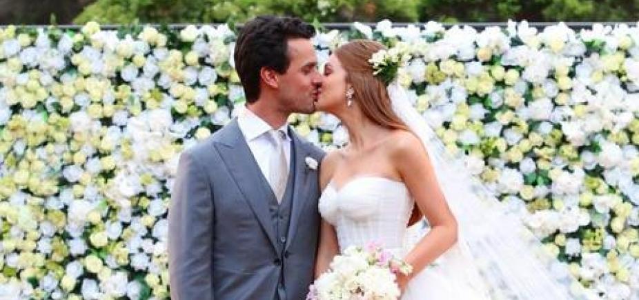 Casamento de Marina Ruy Barbosa reúne famosos em Campinas; veja fotos