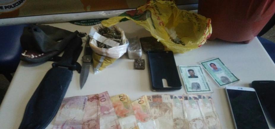 Porteiro de escola é preso suspeito de liderar boca de fumo em Mucugê