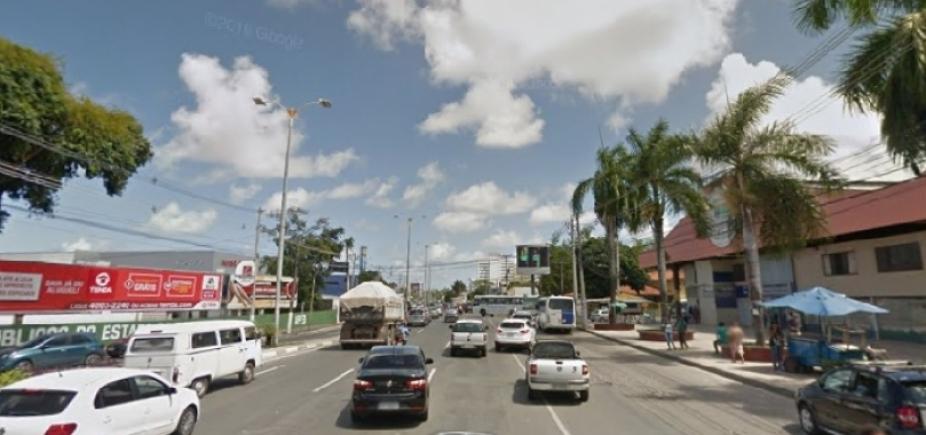 Obras do metrô congestionam Estrada do Coco e Cia-Aeroporto; veja o trânsito