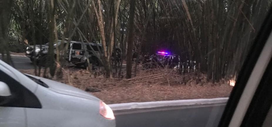 Suspeitos morrem após tiroteio no bambuzal do aeroporto de Salvador