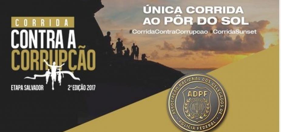 """""""Corrida contra Corrupção"""" da PF terá """"megaestrutura em Salvador"""", promete delegado"""