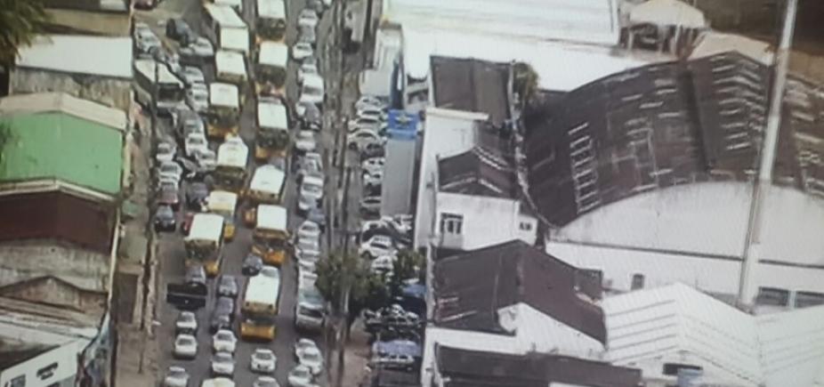 Cidade Baixa tem trânsito congestionado nesta terça-feira; confira